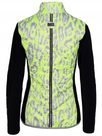 HIGH SOCIETY jacket LEA HYBRID ANIMAL PRINT