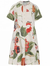 HIGH dress BOTANY 721356-12494