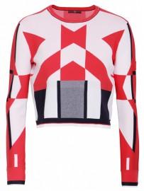 HIGH sweter RHYTHMIC S51174-90R72