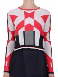 HIGH sweater RHYTHMIC S51174-90R72