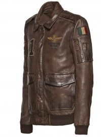 AERONAUTICA MILITARE leather jacket PN5005