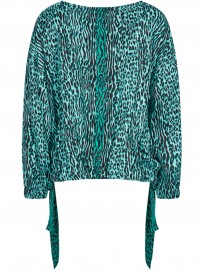 SPORTALM blouse WEED PRINT