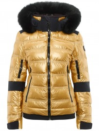TONI SAILER jacket TAMI METALLIC FUR