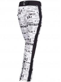 SPORTALM pants SIGNAL PRINT