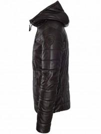 BLAUER leather jacket 18WBLUL01232