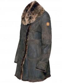 AERONAUTICA MILITARE płaszcz skórzany PN260